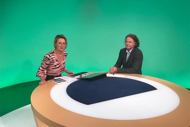Siegbert Schefke bei der Deutschen Welle