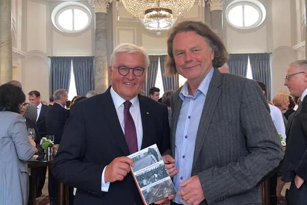 """Mit Bundespräsident Walter Steinmeier am """"Tag des Mauerbaus"""""""