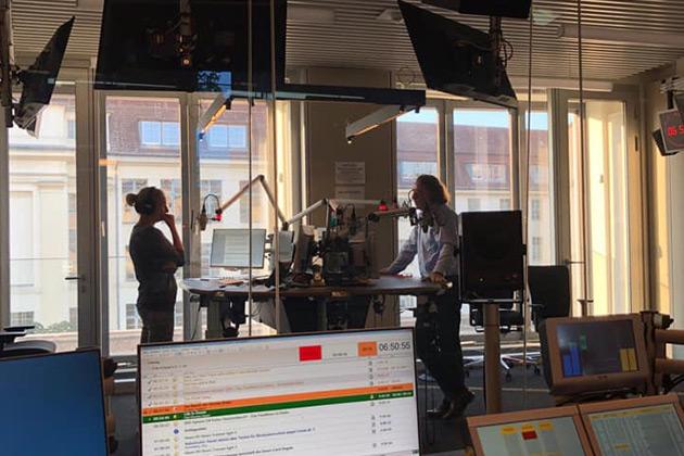 Interview im Deutschlandradio/Berlin zu 30 Jahre Mauerfall