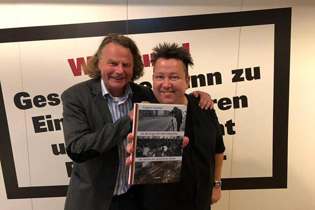 Siegbert Schefke und Sebastian Krumbiegel von den PRINZEN