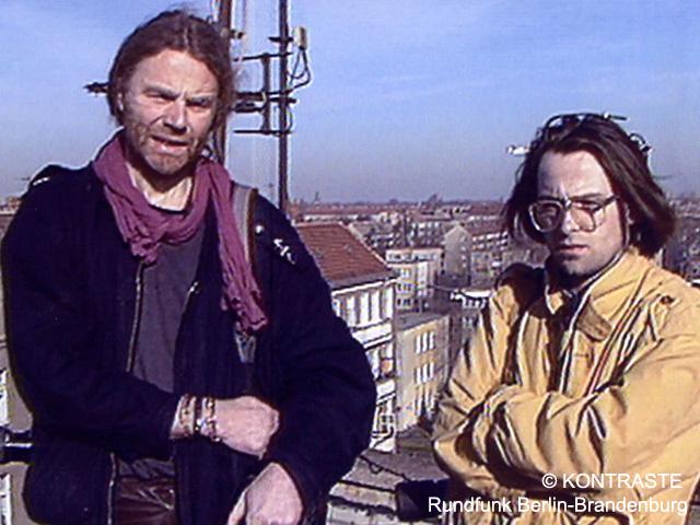 Siegbert Schefke und Aram Radomski filmten heimlich für KONTRASTE (ARD)