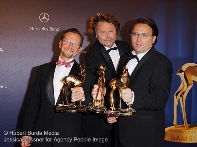 BAMBI 2009: Stille Helden - Siegbert mit Aram Radomski und Christoph Wonneberger