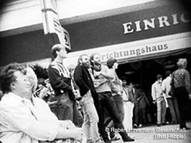 Siegbert Schefke im Visier der STASI
