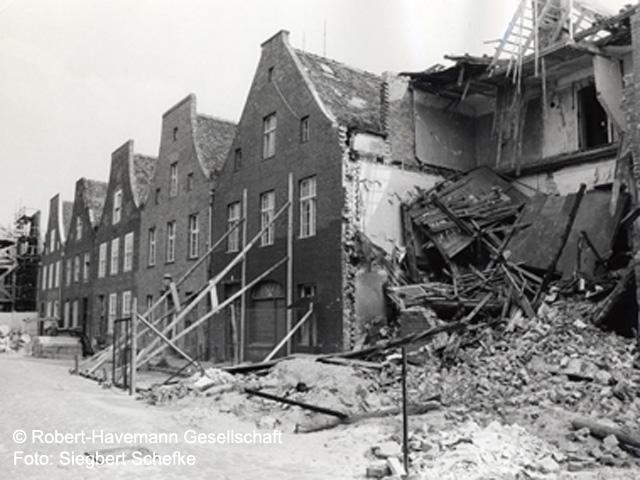 1989 das Holländische Viertel in Potsdam