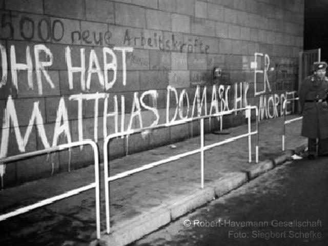 Erstürmung der STASI-Zentrale am 15. Januar 1990 - Erinnerung an ...