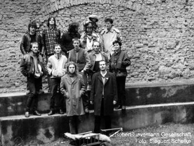 1988 Gründung des Grün-Ökologischen Netzwerks Arche