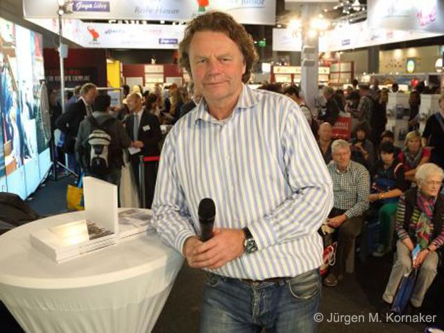 Oktober 2014: Frankfurter Buchmesse - mit Bildern wachrütteln