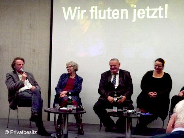 Gedenkstätte Berliner Mauer: Wir fluten jetzt - Gespräch mit Zeitzeugen