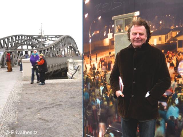 25 Jahre Mauerfall - am Grenzübergang Bornholmer Straße