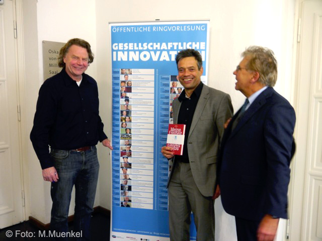 Vortrag und Buchvorstellung, eine Einladung der BMW-Stiftung mit Leiter Thomas Leeb