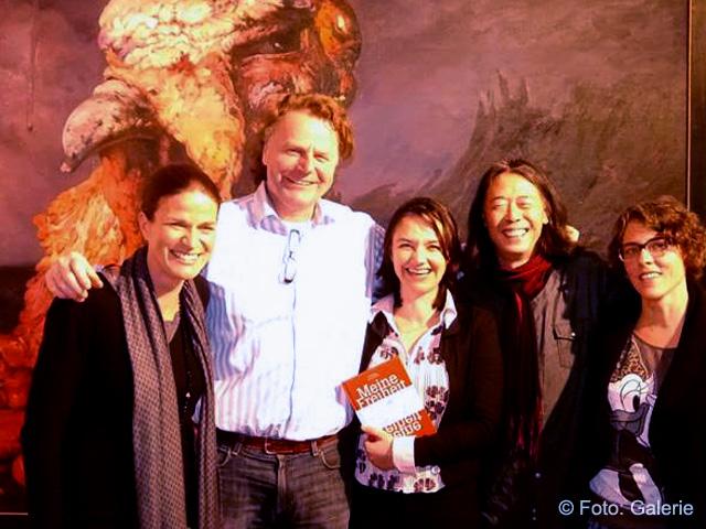 Siegbert Schefke mit Maren Martell, Kathrin Hoehne, Yong Bo Zhao und Nue Ammann