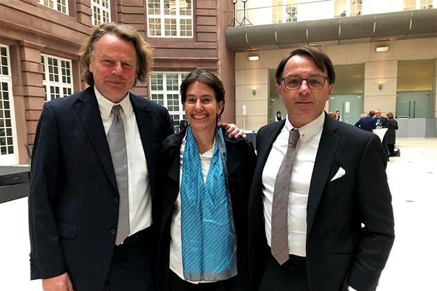 Siegbert Schefke, Belinda Cooper, Aram Radomski